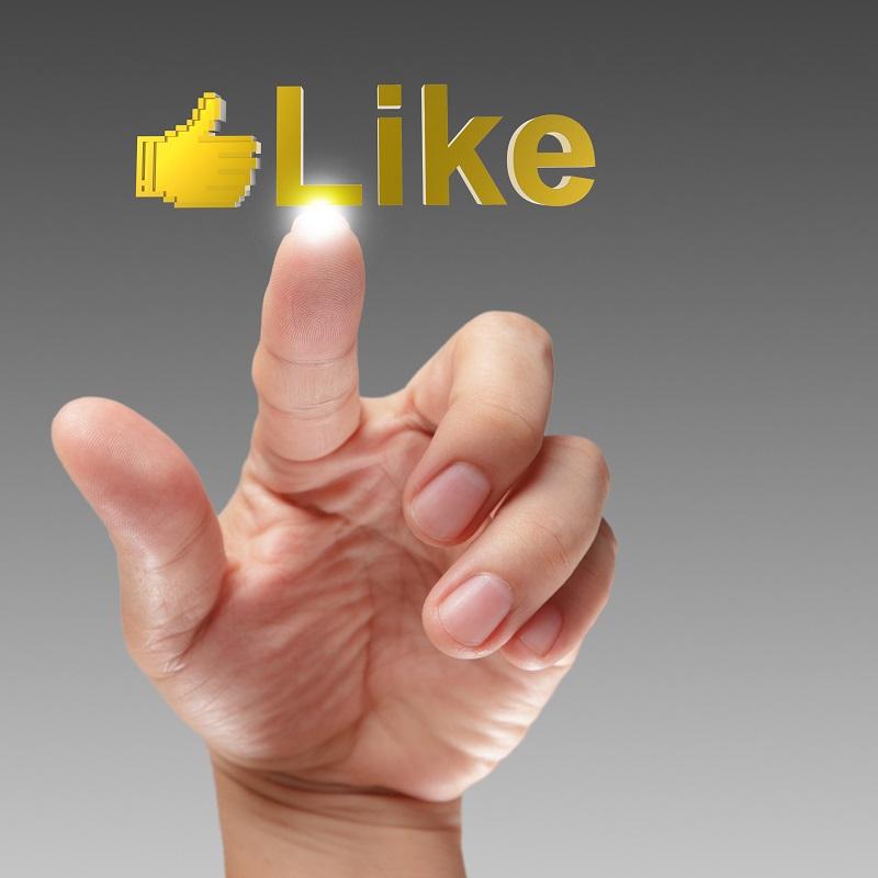 pressing Social Network icon