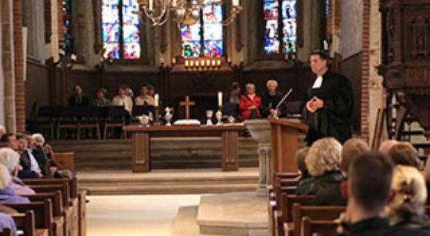 German Pastor Olaf Latzel Preaching
