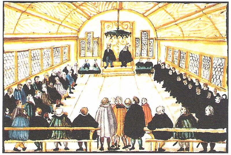 Dissatisfaction with the outcome of a disputation in 1525 prompted a group to part ways with Huldrych Zwingli.