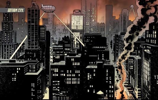 "Image result for gotham city dc comics"""