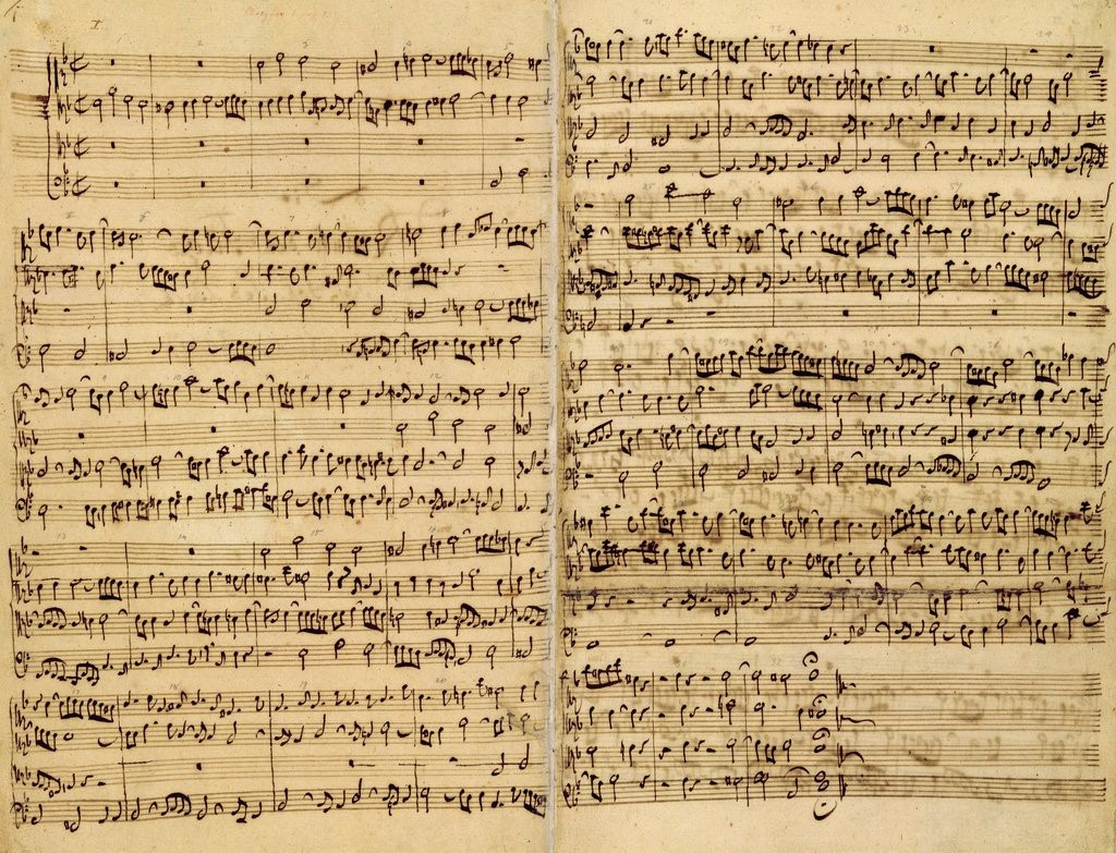 Pages from Score of the 'St. Matthew Passion' posters & prints by ...